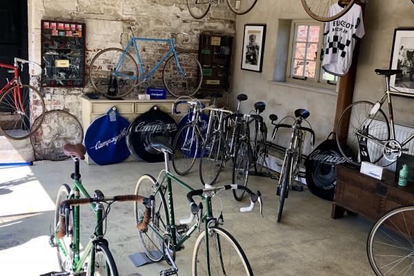 A Private Collection of Fine Cars and Classic Bicycles