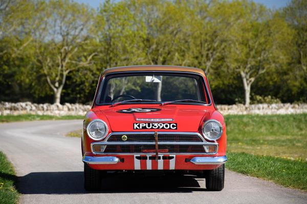 The 1965 Alan Mann Racing Lotus Cortina 'KPU390C'