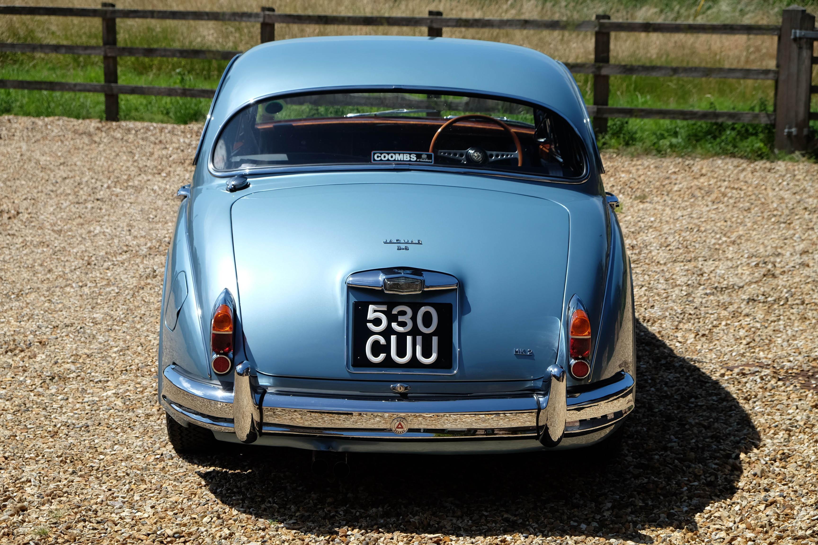 1961 Coombs Jaguar Mk2 3 8
