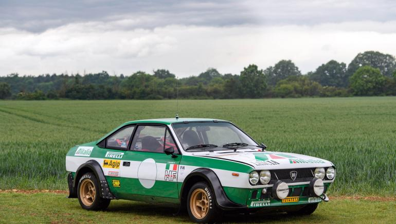 Lancia Beta Coupe Group 4 Works  1976