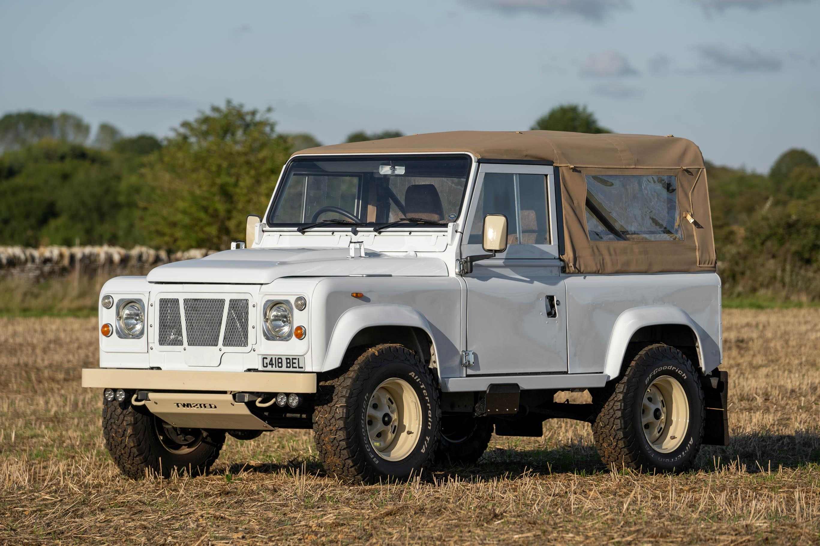 Land Rover Defender 90 Convertible 1990