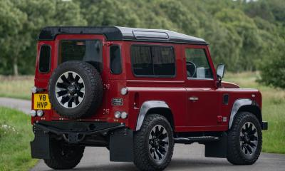 Land Rover Defender Works V8 70th Edition 2019